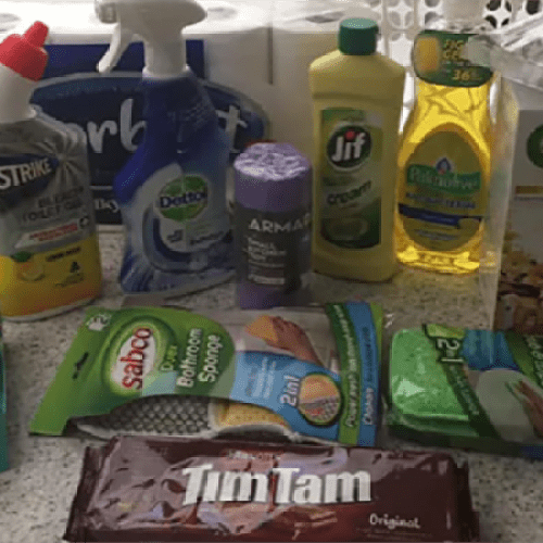 Landlord Sparks Controversy After Giving Her Tenants A Hamper of Cleaning Products As A Welcoming Gift