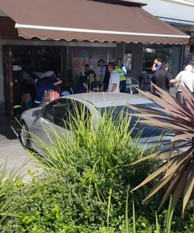 40-Year-Old Woman Dies After Car Ploughes Into Cafe In Sydney's North West