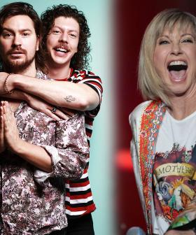 Peking Duk Were Left Star-Struck After A Run-In With Olivia Newton-John At Fire Fight