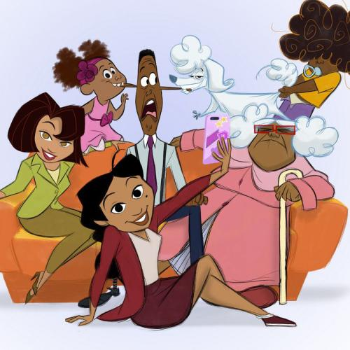 The Proud Family Is Getting A Reboot On Disney Plus With The OG Voice Cast
