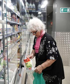 Elderly Head To Woolworths For Shopping Hour