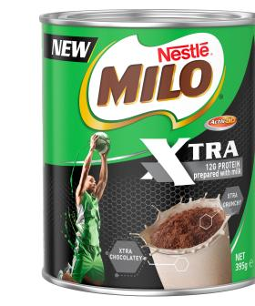 Milo Has Released A New Product That's Set To Be Even More Chocolatey And Crunchy!