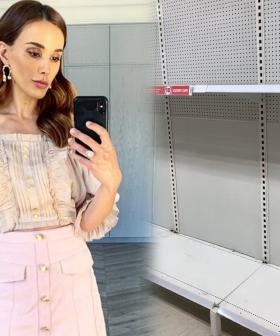 Bec Judd Shares Video Of Empty Shelves At Local Shops As Coronavirus Fears Spread