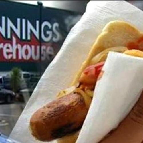 'Tough Decision': Bunnings Suspends All Sausage Sizzles From Tomorrow