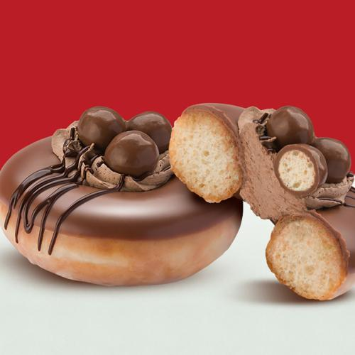 Krispy Kreme Have Teamed Up With Maltesers To Create The Doughnut Of Our DREAMS