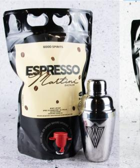 This Bottle-O Is Delivering Goon Sacks Full Of Espresso Martini To Your Door