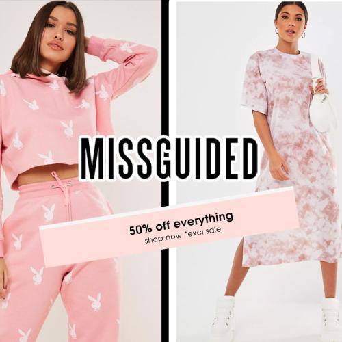 Missguided Is Having 50% Off Site-Wide And Uhhh- I'm Doing My Bit To Stimulate The Economy