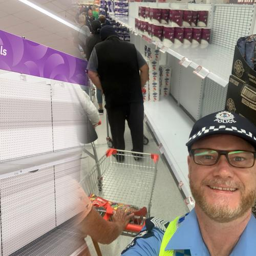 Police To Patrol Supermarket Aisles Amid Panic Buying Madness