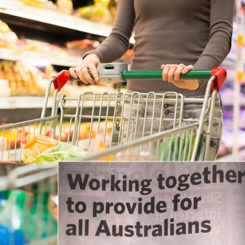 Woolies, Coles, ALDI And IGA Band Together To Send An Important Message To All Australians
