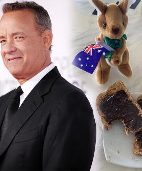 Good News, Tom Hanks Is Using His Self-Isolation Period To Learn How To Spread Vegemite