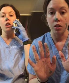 Nurse Shows How Fast Germs Can Spread Even If You Are Wearing Gloves