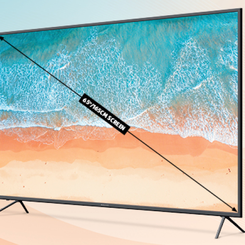 ALDI Is Bringing Back It's Super Cheap 65 Inch 4K TV For An Insanely Cheap Price