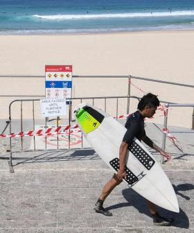 Bondi And Neighbouring Beaches Open Today For Exercise Only But Strict Rules Are In Place
