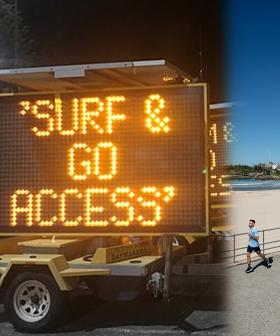 Bondi Beach Looks Set To Reopen After Electronic Signs Pop Up Overnight