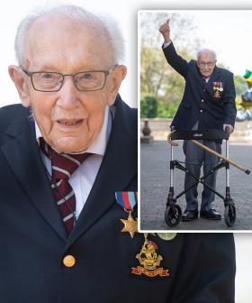 99-Year-Old Completes 100 Laps Of His Garden To Raise Money For Health Workers