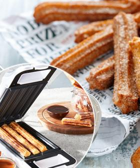 PSA: ALDI Is Selling A Churros Maker That Is Perfect For Your Iso Diet