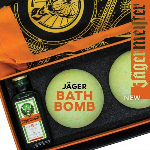 Jägermeister Bath Bombs Are Real & I'll Probably Throw A Tactical In My Bathtub From The Smell