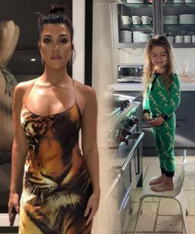 Kourtney Kardashian Shuts Down Mummy-Shamer Who Told Her To Cut Her Son Reign's Long Hair