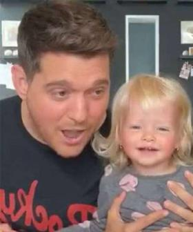 Michael Bublé's One-Year-Old Daughter Sings 'Senorita' With Him In Adorable Insta Live