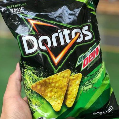 Mountain Dew Flavoured Doritos Are An Actual Thing And Honestly, Why?