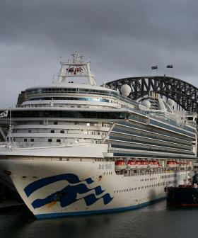 Ruby Princess Docks At NSW Port As Criminal Investigation Launches