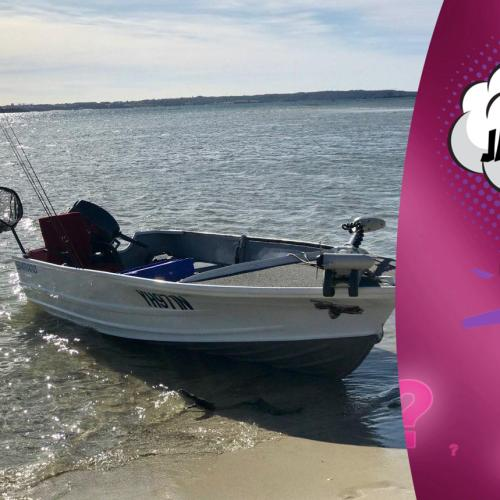 This guy's wife sold his fishing boat (ONLY LYING!)
