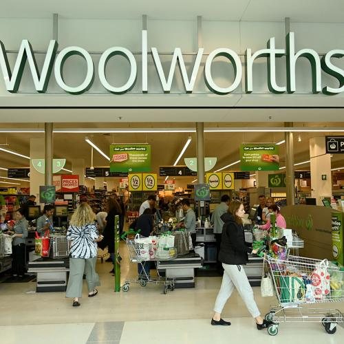 Woolworths Is Trialling Another New Method To Help Customers Adhere To Social Distancing