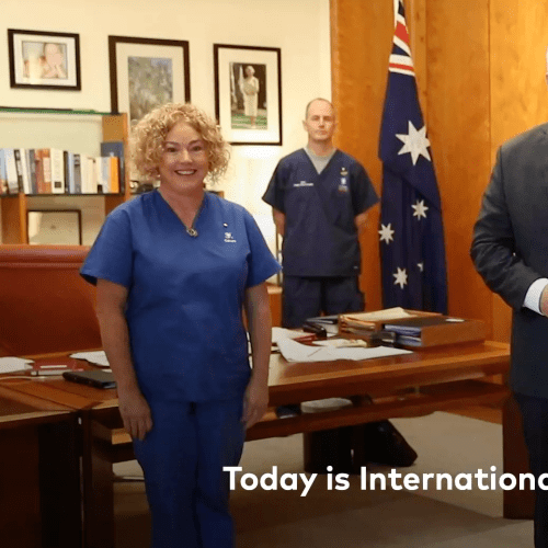 Prime Minister's Message on International Nurses Day