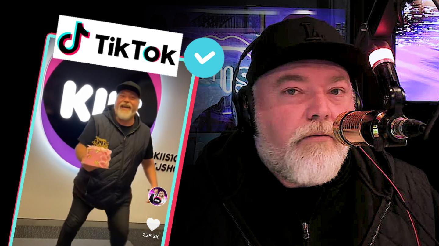 Kyle just found out he's TikTok famous! ✨📱