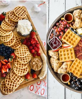 Waffle Charcuterie Boards Are The Latest Trend And They Look Like Heaven On A Plate