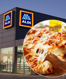ALDI Has Launched The 'Best Margherita Pizza Ever' And They'll Deliver It To Your Door Tonight