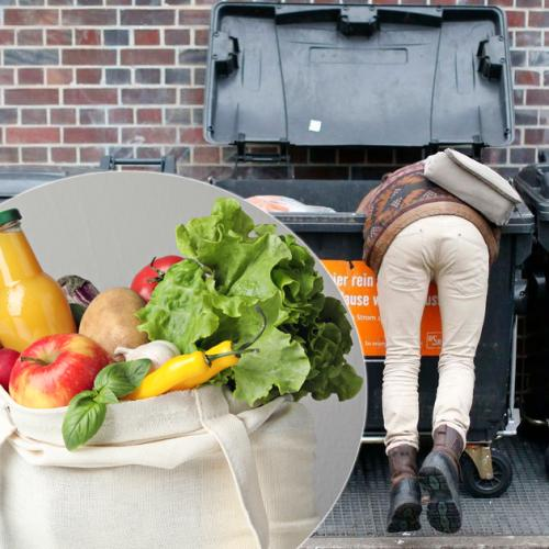 Woman Goes Bin-Diving Through Supermarket Dumpsters For Half Of Her Groceries Each Week