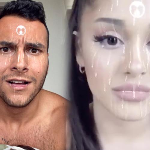Lady Gaga And Ariana Grande's 'Rain On Me' Instagram Filter Looks Like, Well… Not Rain