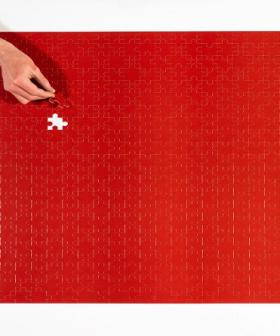 Heinz Released A Puzzle That's Just 570 Pieces Of Tomato Sauce Red