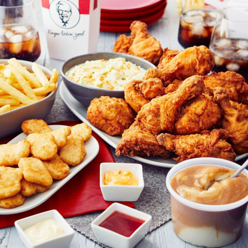KFC Slashes Prices ON ALL Delivery MENU ITEMS By 25% This Weekend!