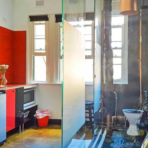 No Big Deal But This Tiny $380-A-Week Unit Has A Loo In The Kitchen