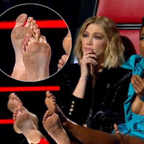 Everyone Is Losing It Over Delta Goodrem's Dirty Feet On The Voice