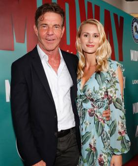 66-Year-Old Actor Dennis Quaid Marries 27-Year-Old Fiance Laura Savoie