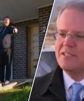 """Get Off The Grass!"": PM's Press Conference Interrupted By Homeowner"
