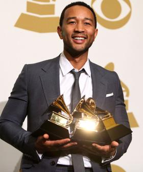 John Legend Chats About Becoming The First African American Man To Win EGOT