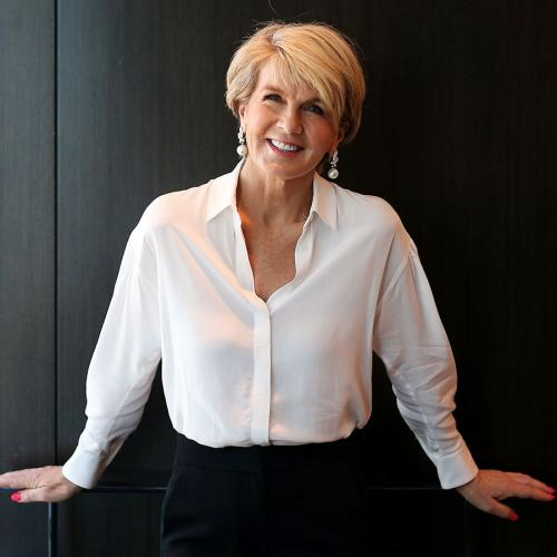 Julie Bishop Chats About The Possibility Of Returning To Politics To Run For Prime Minister
