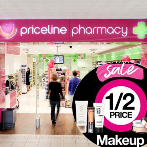 Priceline's 1/2 Price Make Up Sale EXTENDED BY 2 DAYS!