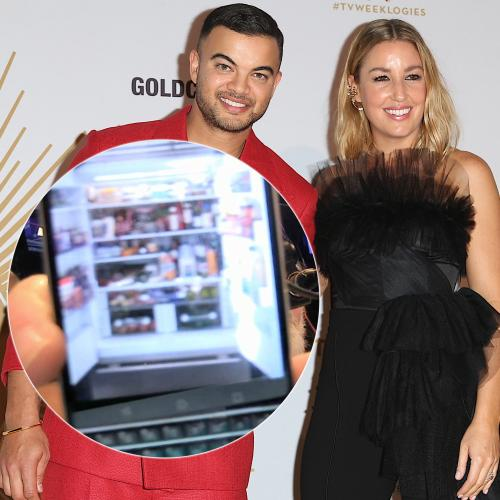Kyle Snooped Inside Guy Sebastian's Fridge And It's Contents Has Sparked An Age-Old Debate