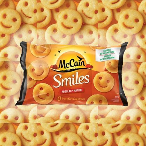 PSA: McCain's Potato Smiles Are BACK With A New Name