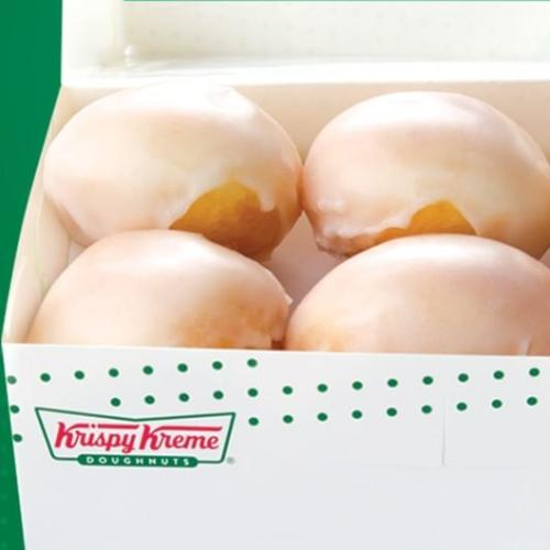 You Can Now Buy Krispy Kreme Glazed Bites!
