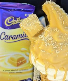 FYI: A Sydney Café Is Making Caramilk Choc Tops!