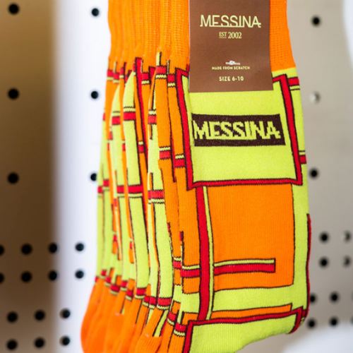 Did You Guys Know You Can Buy 'Messina' Printed Socks?!
