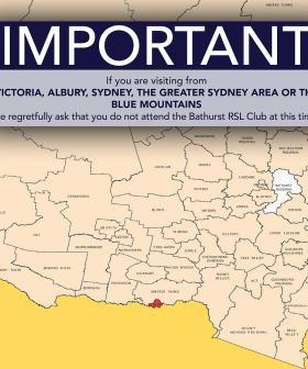 RSL Club In Regional NSW Bans Visitors From Sydney!