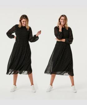 Everyone Is Loving This $28 Kmart Polka Dot Dress!