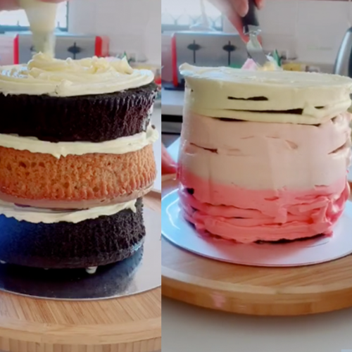 This Is How To Make A $20 Wedding Cake With Mudcakes From Woolworths